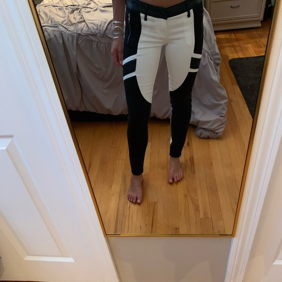 White and Black express Jeans